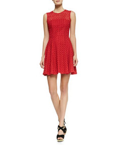 Fool For Love Flared Lace Dress   Fool For Love Flared Lace Dress