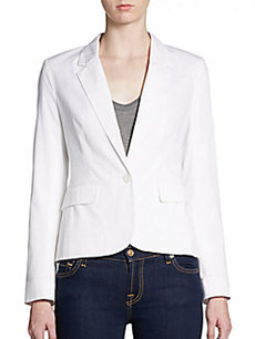 French Connection Stretch Cotton Blazer