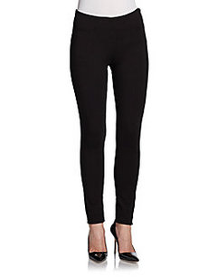 Saks Fifth Avenue RED Scuba Stretch Jersey Leggings