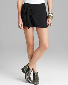 Free People Shorts - Solid Sarong