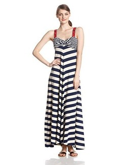 Lucky Brand Women's Stripe Maxi Dress