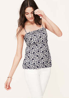 Petite Floral Empire Cami Top