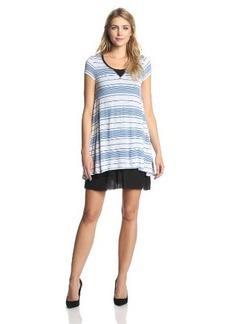 Kensie Women's Striped Viscose Dress