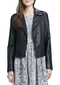 Joie Caldine Leather Motorcycle Jacket