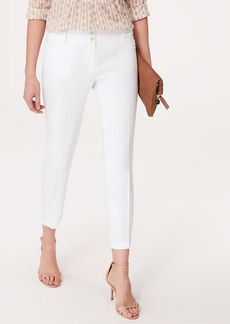 Tall Slouchy Linen Blend Ankle Pants in Marisa Fit