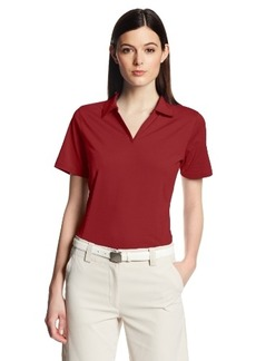 Cutter & Buck Women's Drytec Medina Tonal Stripe Short Sleeve Polo