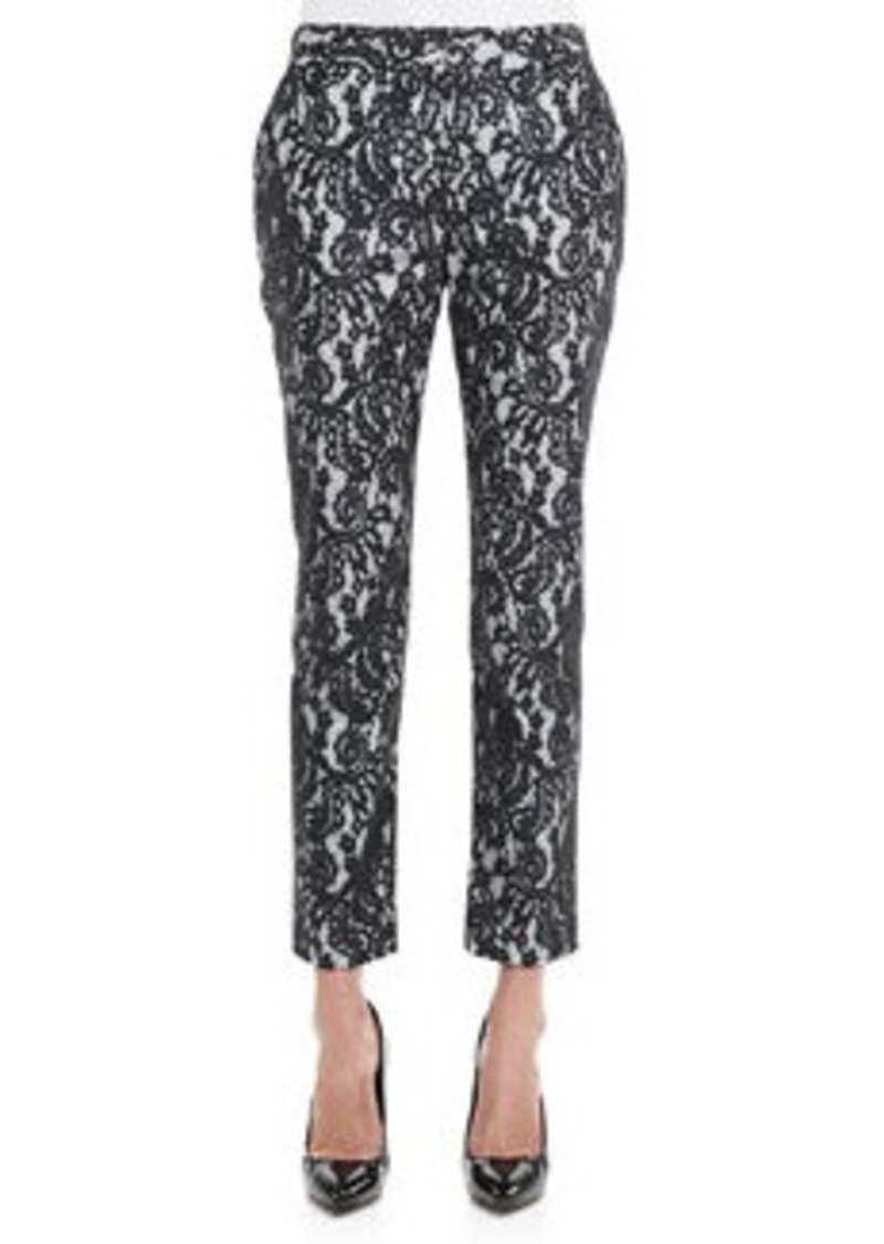 Christy Cropped Lace Pants   Christy Cropped Lace Pants