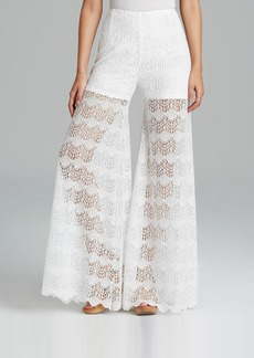 GUESS Pants - Wide Leg Lace