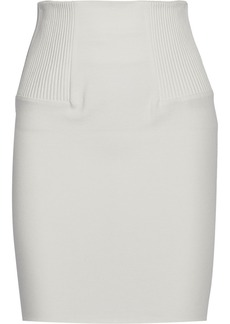 3.1 Phillip Lim Quilted stretch-ponte skirt