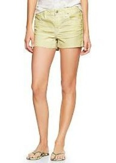 1969 side-stripe maddie denim shorts