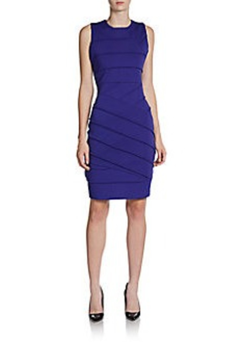 Calvin Klein Exposed Seam Knit Dress