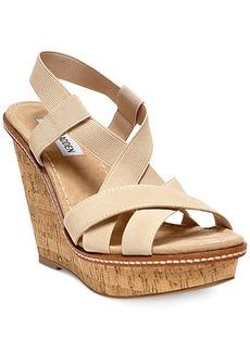 Steve Madden Women's Bouncce Platform Wedge Sandals