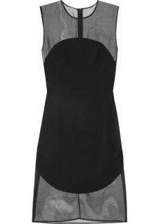 Stella McCartney Silk-organza and stretch-cady dress