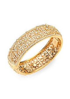 Adriana Orsini Floral Hinge Bracelet