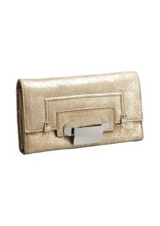 Kooba light gold leather 'Turn Lock' wallet