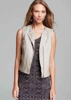 Sanctuary Mel Faux Leather Vest
