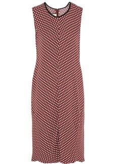 Marni Printed crepe dress