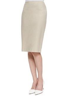 Lafayette 148 New York Modern Slim Skirt, Raffia