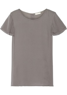 Joie Enzo silk crepe de chine top