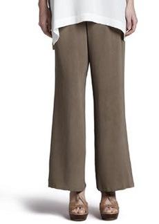 Go Silk Silk Full-Leg Pants, Petite