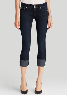Hudson Jeans - Ginny Cuffed Cropped in Forsythia