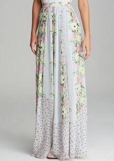 FRENCH CONNECTION Maxi Skirt - Desert Tropicana Chiffon
