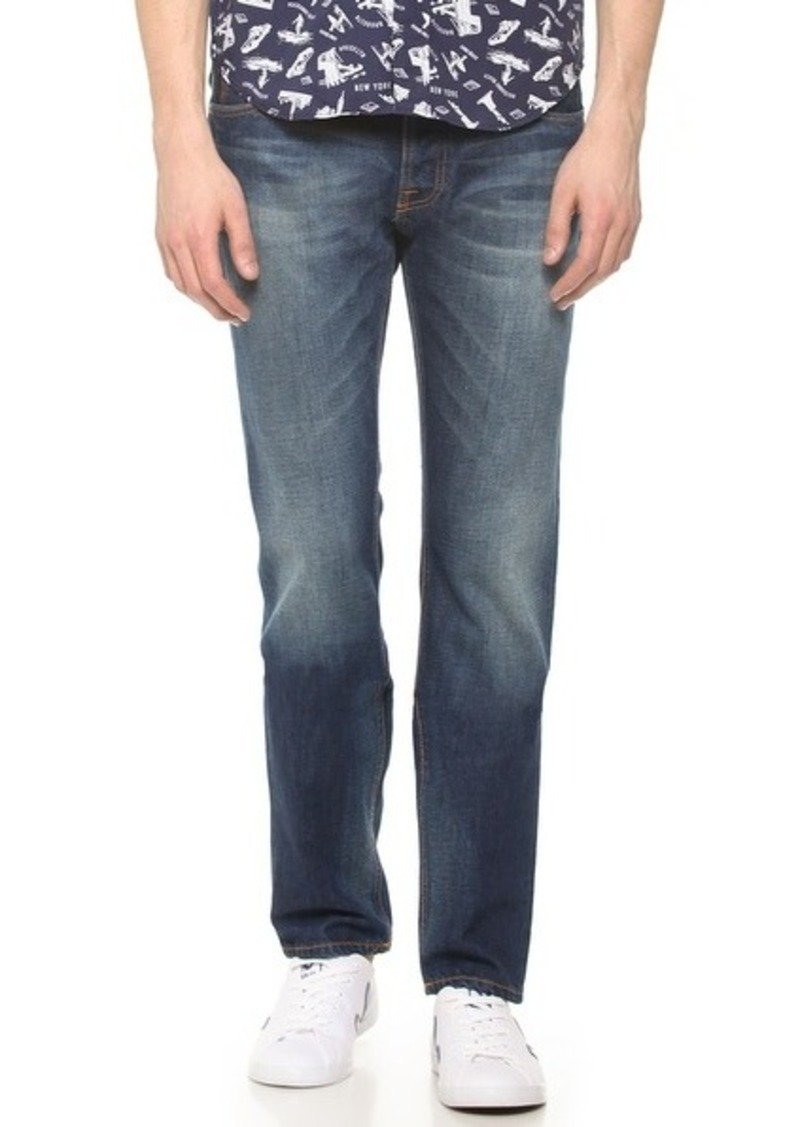 nudie jeans co steady eddie whistle blue jeans shop it to me all sales in one place shop. Black Bedroom Furniture Sets. Home Design Ideas