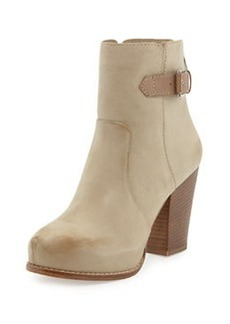 Pelle Moda Fine Suede Ankle Boot, Taupe