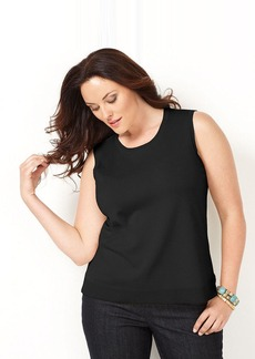 Charter Club Plus Size Sleeveless Shell