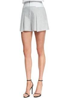 Robert Rodriguez Pleated Bonded Tuxedo Shorts
