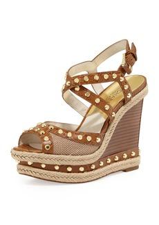 MICHAEL Michael Kors Jade Studded Wedge Sandal