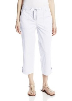 Jones New York Women's Cropped Cargo Pant