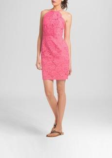 Trina Turk Dress - Parry Sleeveless Parry Rose Bud Lace
