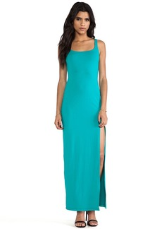 Susana Monaco Phoebe Maxi Dress in Teal