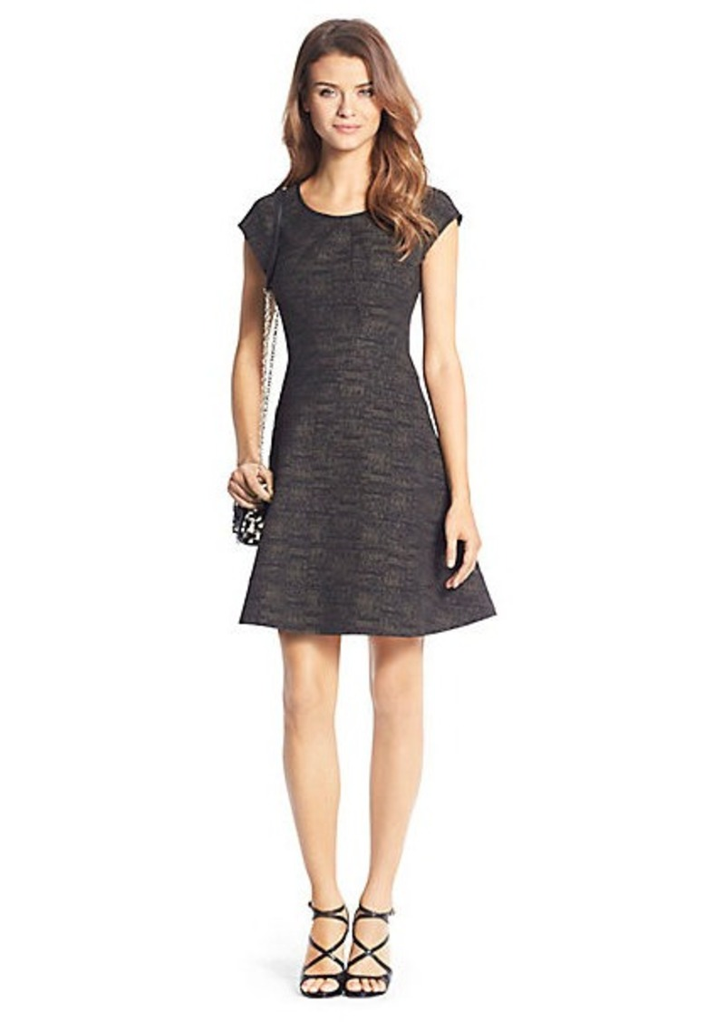Rebecca Printed Flirty Knit Dress