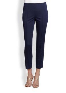 Saks Fifth Avenue Collection Pintuck Capri Pants