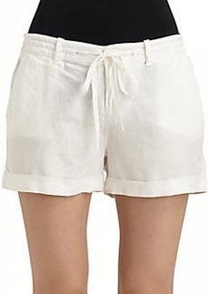 Joie Zachary Linen Shorts