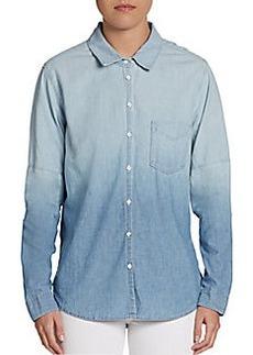 C&C California Dip-Dyed Chambray Shirt