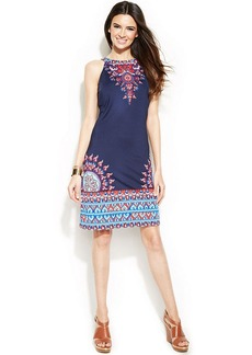 INC International Concepts Printed Halter Dress