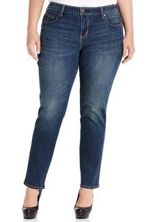 Levi's® Plus Size Flatters & Flaunts Skinny Jeans, Deep Sky Wash