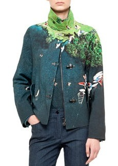Akris punto Outdoor jacket, cotton, surf