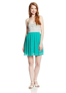 Roxy Juniors One Day Soon Chiffon Skirt Fit and Flare Dress