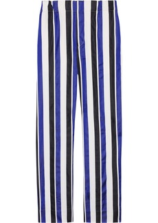 Marni Cotton and silk-blend wide-leg pants