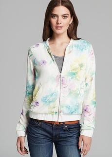 Dolce Vita Jacket - Wylan Soft Floral Knit Bomber