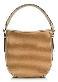 Teddie convertible straw hobo