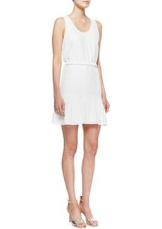Joie Ori Ruffle-Hem Sleeveless Dress