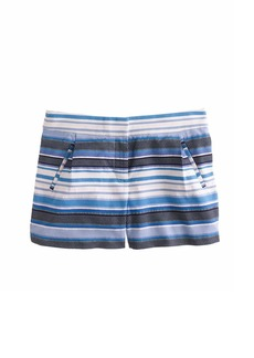 Zigzag stripe short