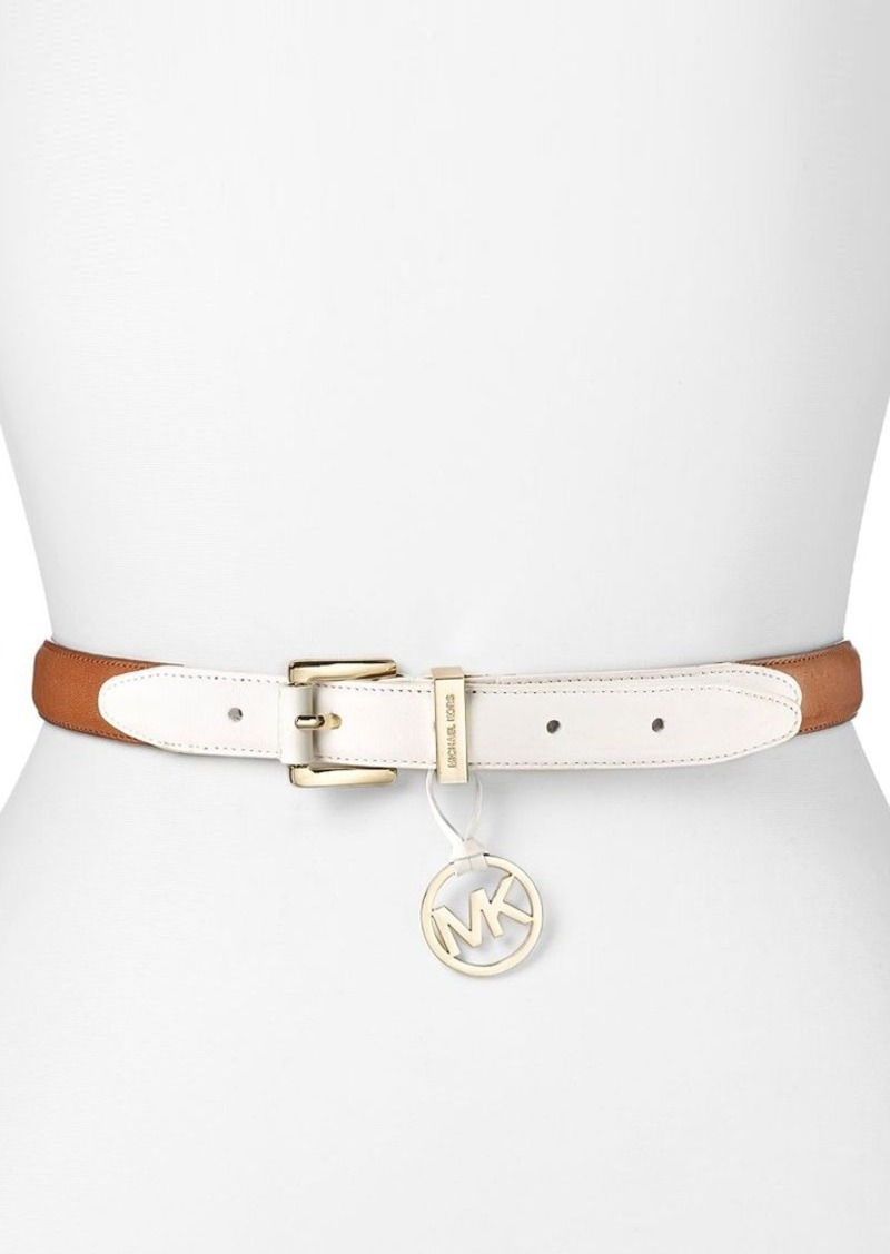 MICHAEL Michael Kors Belt - Colorblock Tabs