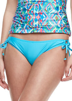 Ella Moss Swim Tie-Side Swim Bottom, Azure