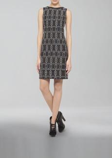 Akris punto Tribal Jacquard-Print Shift Dress